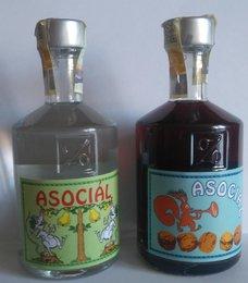 Asociál - ořechový - posledních pár ks